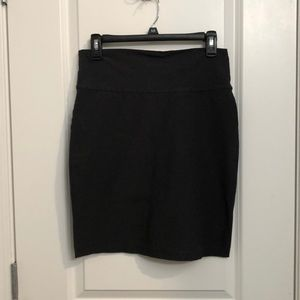 Eileen Fisher Black Pencil Skirt